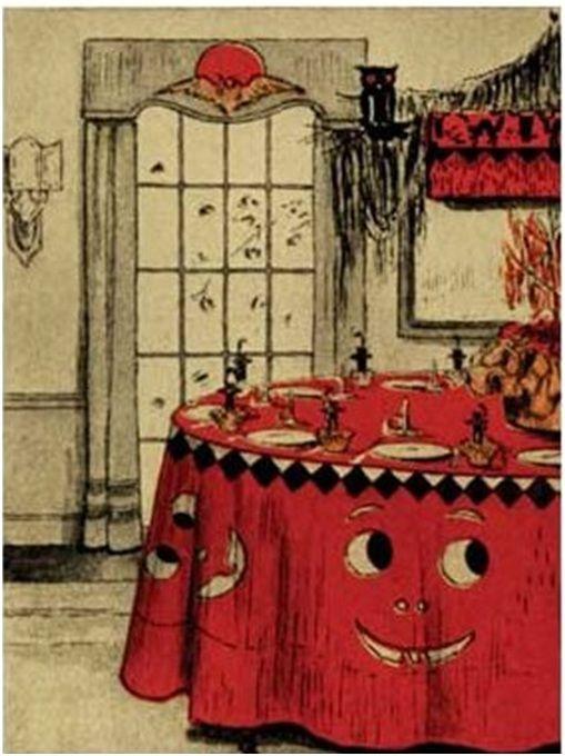 105 best vintage halloween decorations images on for Antique halloween decoration