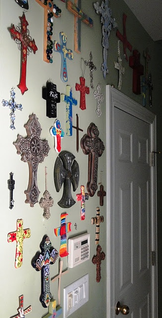 Another great wall of crosses.  What a collection!
