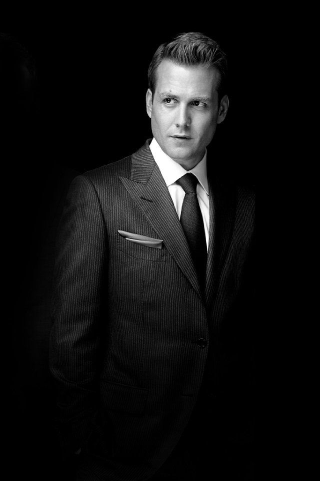 Gabriel Macht. Nobody wears a suit better. Oh how I heart Harvey Specter! #suits #Harvey