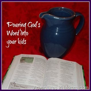 Pouring God's Word into your kids: Children's Bible Studies