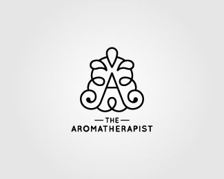 """Because the """"the""""s are on top of one another, I first read this as """"Aroma the Rapist."""" Maybe not what they were going for."""