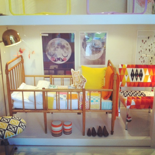bild-88Mimmie Staaf, Vintage Cot, Kids Spaces, Kids Room, Children Bedrooms, Children Room, Children Beds, Staaf Möbelmakeri
