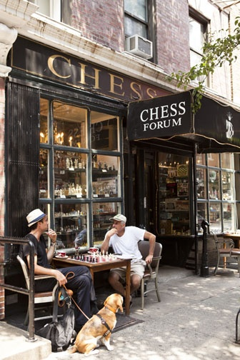 Game of chess, Greenwich village, #New York www.nickbaylispho... Rent-Direct.com - No Fee Rental Apartments in NY.