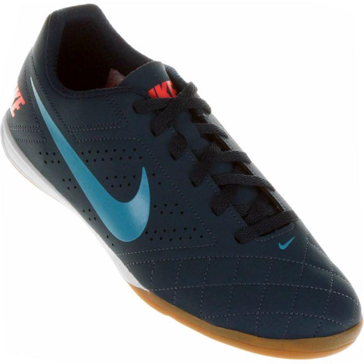 Tênis Nike Beco 2 Indoor Futsal Masculino Azul Marinho