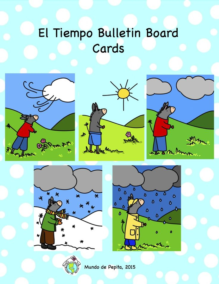 70 best images about Seasons weather spanish on Pinterest