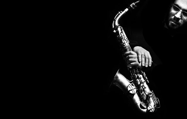Обои картинки фото саксофон, saxophone