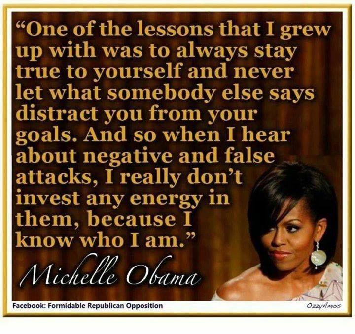 Michelle Obama...