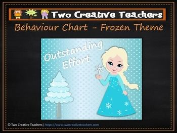 Two Creative Teachers - Frozen Theme Behaviour Management Chart This product contains posters that include the words: outstanding effort, awesome job, great work, ready to learn, stop and think, danger zone, teacher choice and parent contact. If you like the theme and have different words in mind, please email us and we can adapt and send you a copy.How To Use This Resource:Display this in the classroom or hang it in the room.