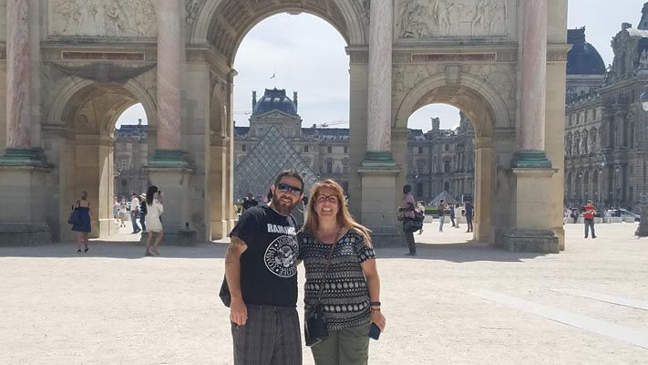 Mike Daven, Mathematics professor, and Theresa Brundage, Education administrative assistant, followed in the footsteps of St. Dominic de Guzman through a three-week pilgrimage of France. The pair joined others from the Mount's sister Dominican colleges to learn about the order's history and roots.