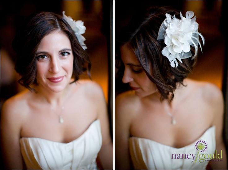 pretty wedding hair with no veil  ©2010 nancy gould
