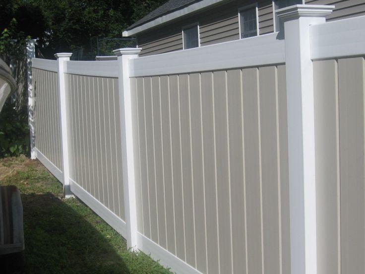 Ideas about vinyl fence panels on pinterest