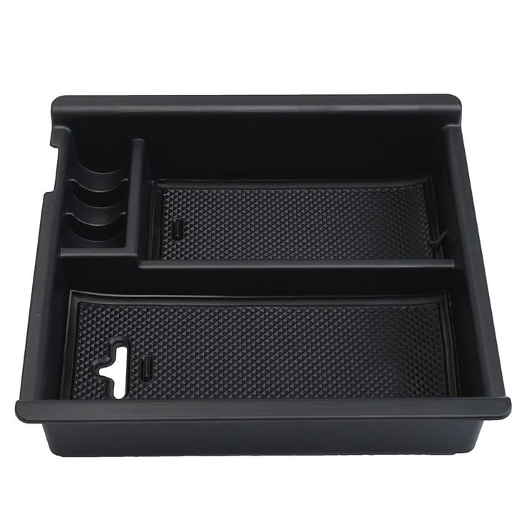 Center Console Insert Organizer Tray Fit Toyota Tacoma (2016-present), Armrest Secondary Storage Box Glove Pallet Car Accessories