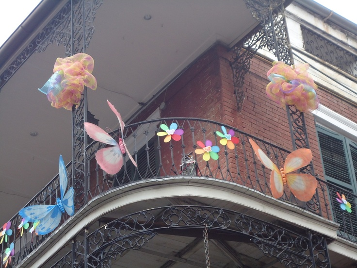 Balcony, French Quarters, New Orleans, LA: New Orleans, Big Easy, French Quarter