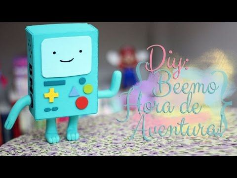 DIY: BMO Adventure Time! - Beemo de Hora de aventura! Super fofo!