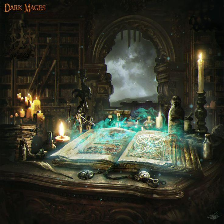 Mlappas. Esse grimório encantado tem uma vasta coleção de magias e conhecimentos. Quando ele é aberto pela primeira vez, todas suas páginas estão em branco. Apenas se a pessoa que o ler escrever nele uma magia que ele ainda não tenha ou um conhecimento raro, que poderá usá-lo por um dia. Mlappas está atualmente na Universidade de Amara.
