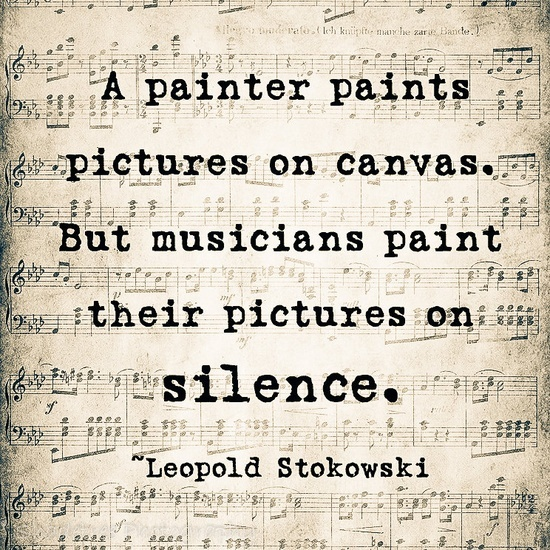 Music Quote Musical Notes Vintage Style Music Lover Leopold Stokowski Sepia…