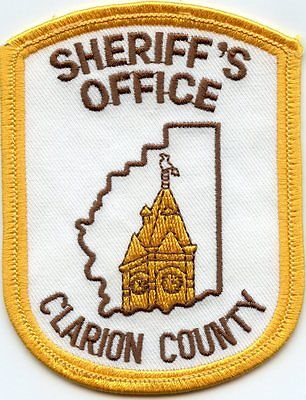CLARION-COUNTY-PENNSYLVANIA-SHERIFF-PATCH
