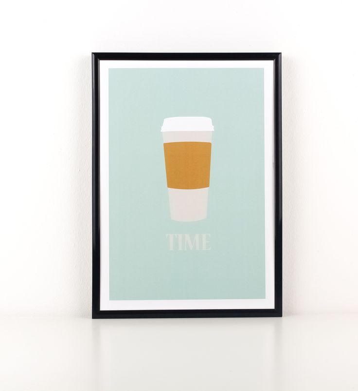 Coffee Lovers stand up! This fabulous print is perfect for grande coffee addicts. A perfect addition to your kitchen, dining room and home office to spruce up the decor.