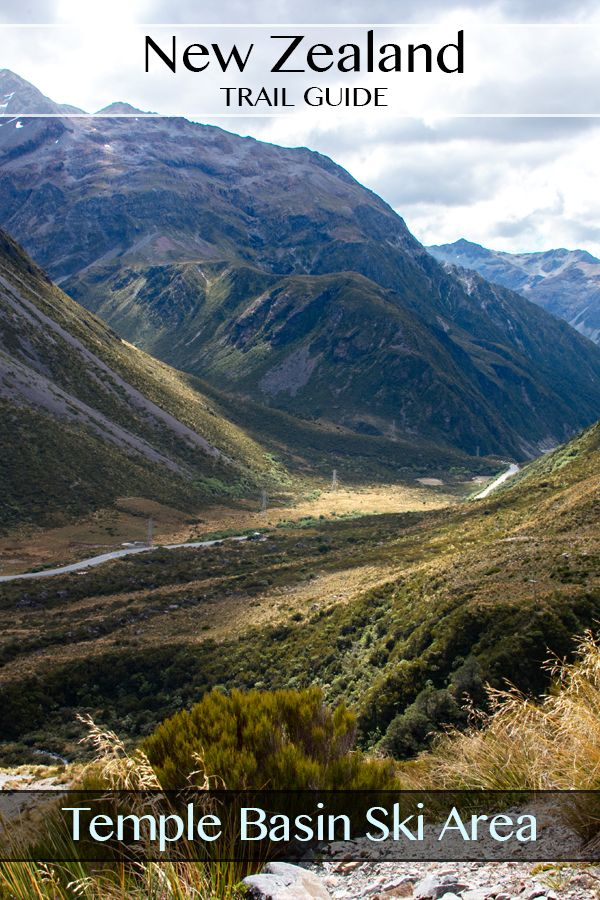 A fully photographed guide to the Temple Basin Ski Area Track in Arthurs Pass South Island New Zealand. #travel #guide #hiking #photography #arthurspass #templebasin