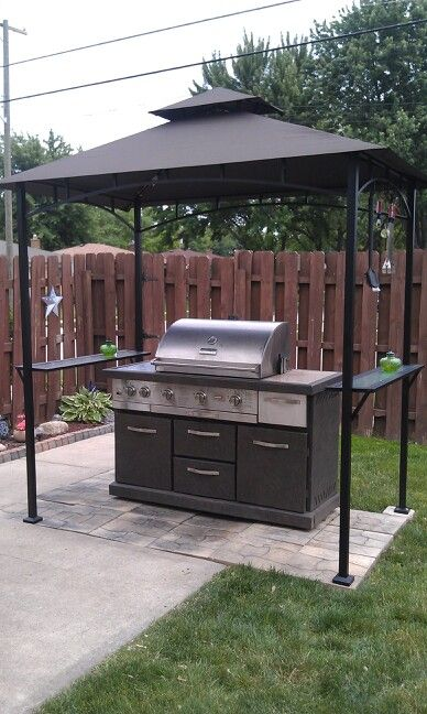 Grill Gazebo Good Idea And Functional Grill Gazebo Bbq