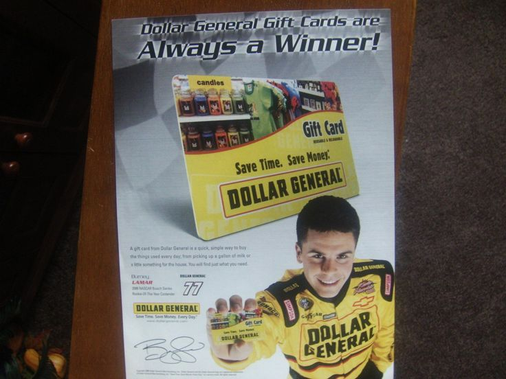 Dollar General Gift Cards Magazine Print Advertisement Burney Lamar Shop for Man Cave Decor at ivanhoe.ecrater.com.  Lowest prices all the time!  I am the Great Ebay Alterntive!   Dare to Compare.