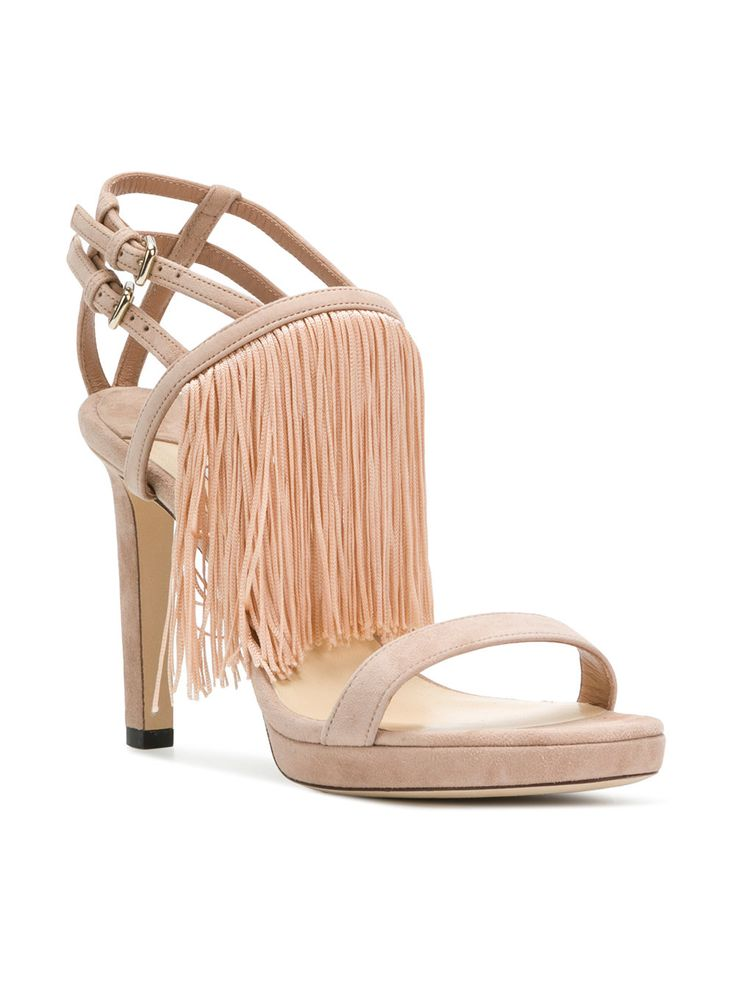 Farrah 100 sandals - Nude & Neutrals Jimmy Choo London OPrhQp3ew