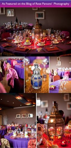 A Dazzling Arabian Night's Wedding Soiree to Remember