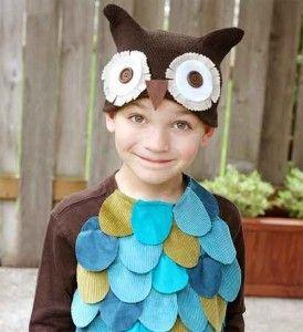 Новогодний костюм для ребенка - Сова