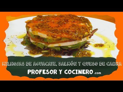 MILHOJAS Aguacate, salmón y queso
