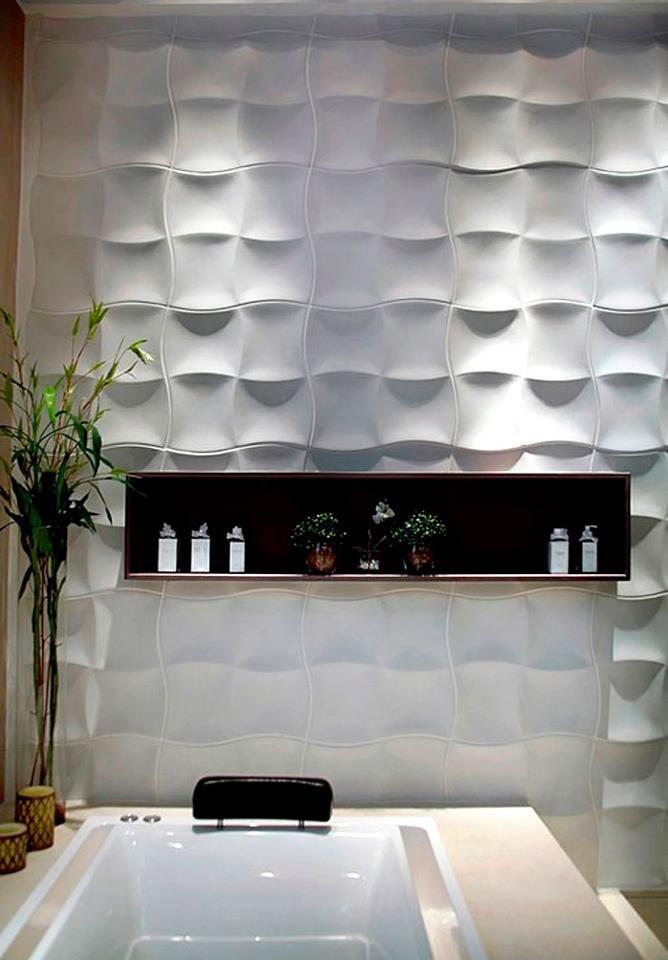 Revestimento Solarium por Renata Rubim, premiada com este projeto no IF Product Design Award 2012 Handmade tiles can be colour coordinated and customized re. shape, texture, pattern, etc. by ceramic design studios