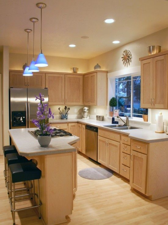 Odd shaped kitchens design decoration for Kitchen designs for odd shaped rooms