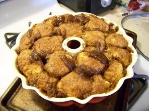 Amish Friendship Bread Monkey Bread - Uses 1 cup of friendship bread starter.