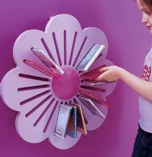 Ideia criativa pra guardar livros das crianças!