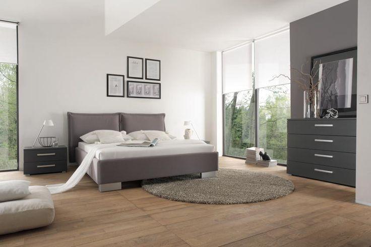 22 best Leder und Polsterbetten images on Pinterest 3\/4 beds - modernes bett design trends 2012