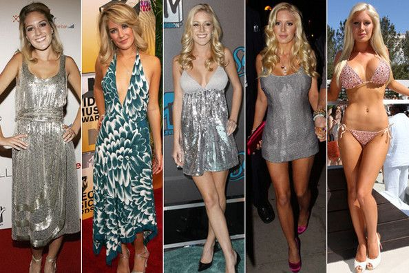 Heidi Montag - so glad she went through all that trouble to make herself look BETTER :)
