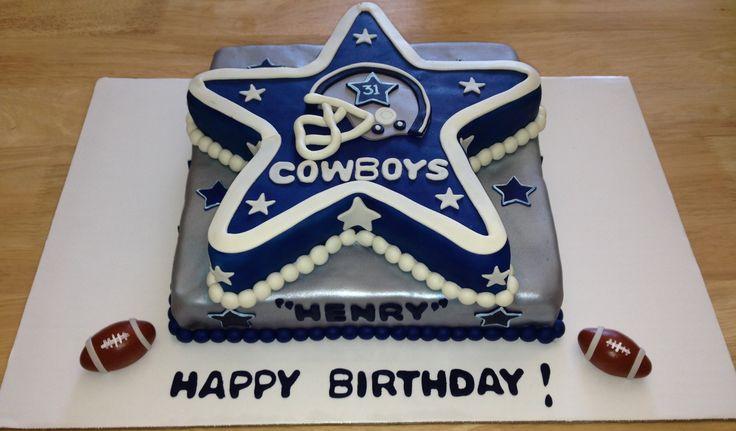 Dallas Cowboy Happy Birthday Cake Images