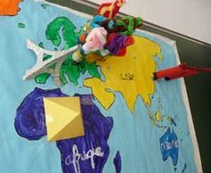 les 5 continents école maternelle
