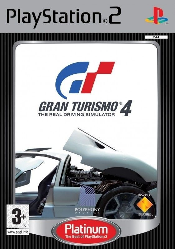 GRAN TURISMO 4 : THE REAL DRIVING SIMULATOR PS2 PlayStation 2 GAME