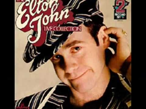This is my fave Elton John song, Little Jeannie.  It's just a pretty song with a pretty message....