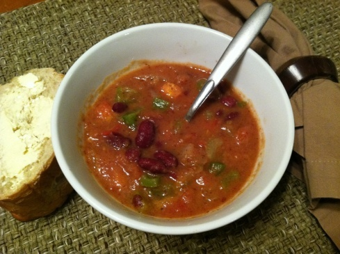 Spicy Cajun Red Bean Soup | Food | Pinterest
