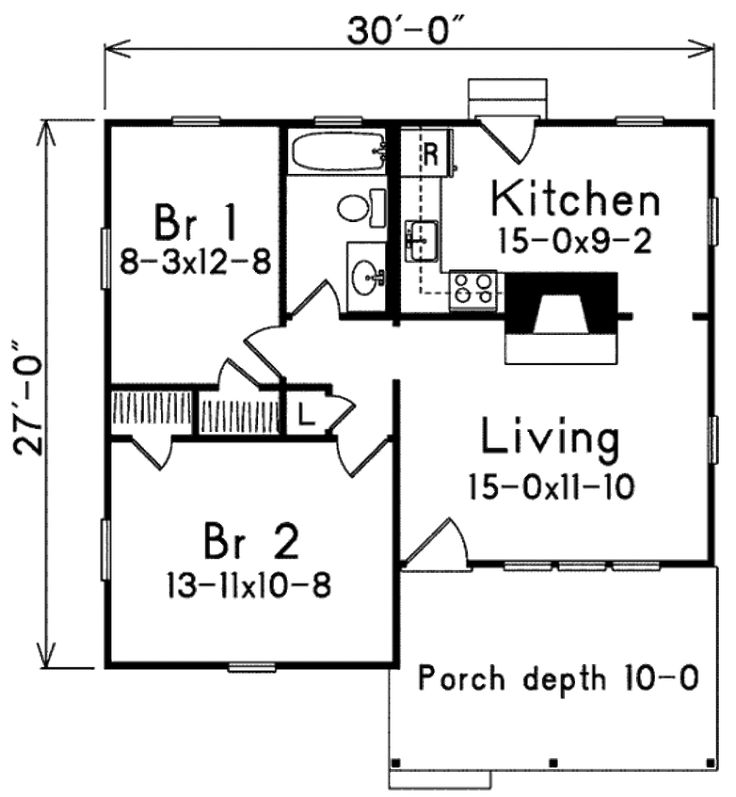 344 best house plans images on Pinterest Small house plans