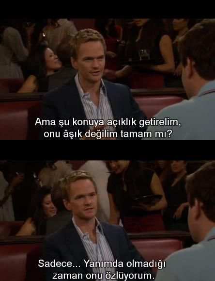 how i met your mother replikleri