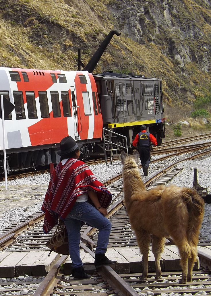Ecuador's Devils Nose Train