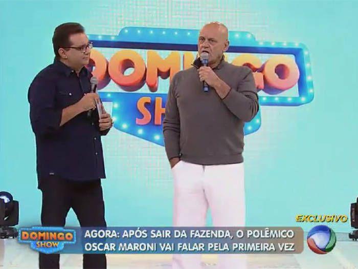 """Oscar Maroni detona jogo de Felipeh Campos em A Fazenda: """"Ele faz parte grupo de víboras"""" http://r7.com/Cuw5  (Foto: Reprodução/Rede Record)"""