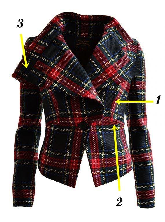 vivienne westwood tartan jacket - Поиск в Google
