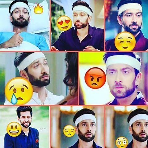 Shivaay Singh Oberoi Moods and expressions..@nakuulmehta #Ishqbaaaz