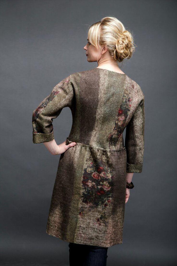 """Купить Пальто валяное жакет валяный """"Renaissance"""" - пальто женское, пальто из шерсти, пальто демисезонное"""