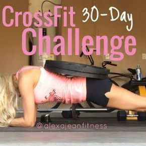 Who doesn't love a good at-home CrossFit workout!? I do! This one will kick your butt for sure, but stick with it and you're hard work will pay off! Have a great day! Week 1 Day 1: 12 push-ups + 12 sit-ups + 12 air squats (3 rounds) Day 2: Jog 1/2 mile + 30 air squats (3 rounds)