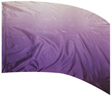 Styleplus ISF F-1 Shaded Poly China Silk Color Guard Flags-PURPLE