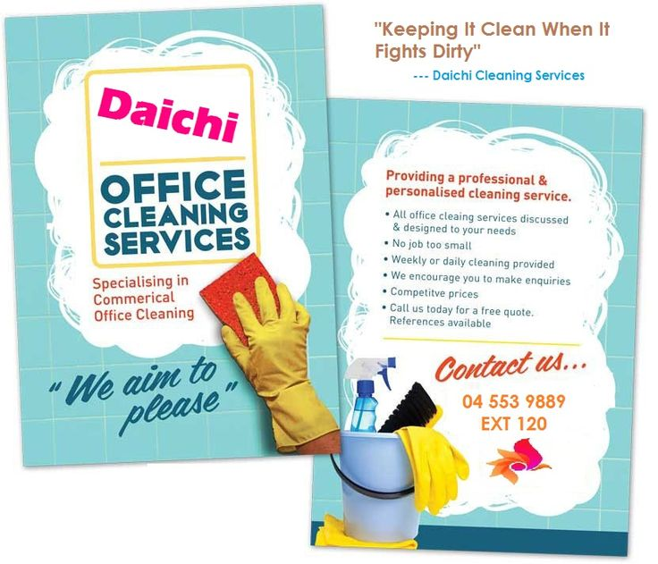 15 Cool Cleaning Service Flyers 7 Cleaning Service Flyer - cleaning brochure template